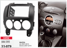 Carav 11-079 Autorradio embellecedor radio marco Instalación para Mazda 2 Dahwa