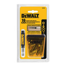 NEW Dewalt 16 Piece Magnetic Drive Guide Set Bits DW2053 Quick & Free Shipping