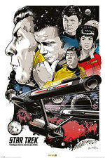 Star Trek 50th Anniversary Poster - Boldly Go - Limited Edition!