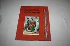 Hebrew-English Haggadah illustrated by M. Van Dijk book