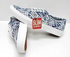 Vans Authentic Slim Mixed Geo Navy VN-0XG6FI8 Women's Size 8.5