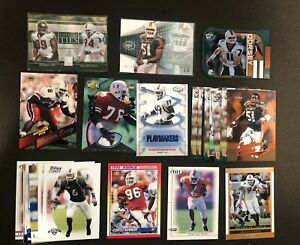 Miami Hurricanes Football Card Lot (25) - Sapp - Vilma - Rolle - The U     NM-MT