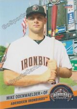 2016 Aberdeen Ironbirds Mike Odenwaelder RC Rookie Orioles
