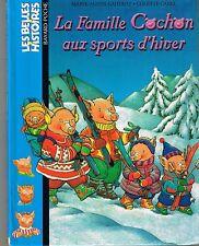 La Famille Cochon aux sports d'hiver M A GAUDRAT Belles Histoires dès 3 ans 100