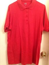 Ladies top, by Only Necessities, size large, Polo style GUC,