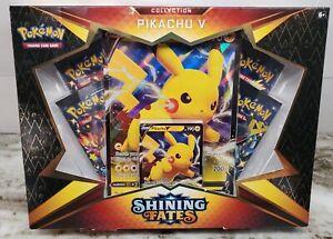 Pokemon Shining Fates TCG Pikachu V Collection Box