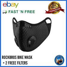 Bike Mask/Face Mask Cycling Mask For Extreme Sports BLACK MESH Sport Mask UK