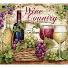 2019 Wine Country Wall Calendar, Wine, Beer & Spirits by Lang Companies