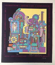 """EDUARDO PAOLOZZI RA Limited Edition SCREENPRINT """"Magic Flute"""" 23/40 1994"""