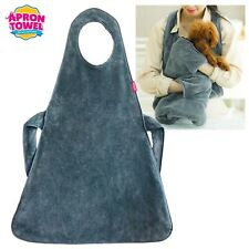 [PETAUM] Premium Microfiber Pet Apron Towel_Super Absorbent and Quick Drying