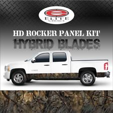 "Hybrid Oak Blades Camo Rocker Panel Graphic Decal Wrap Truck SUV - 12"" x 24FT"