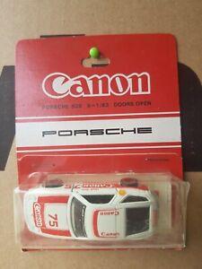 Tomica F53 - PORSCHE 928 [WHITE] CANON CAR VHTF MINT BLISTER OK  MADE IN JAPAN