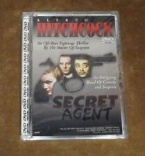 SECRET AGENT - DVD - 1936 ALFRED HITCHCOCK B&W ESPIONAGE FILM - SEALED