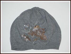 ♥♥ H&M♥♥ zauberhafte Wollmütze mit Stern  Gr. 110-128