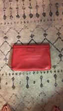 Marc By Marc Jacobs Red Oversized Clutch