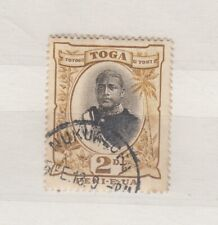 More details for tonga 1897 2d king george sg41 fine used jk645