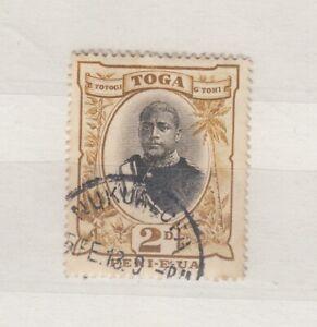 Tonga 1897 2d King George SG41 Fine Used JK645