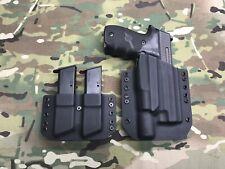 Black Kydex Light Holster SIG P226 Surefire X300 Ultra A w/ Dual Carrier
