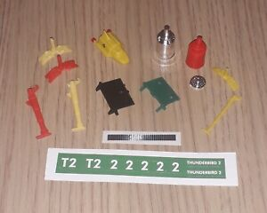 Dinky 101 & 106 Thunderbird 2 Reproduction Spare Parts - Choose From List