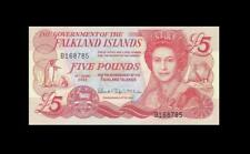 2005 FALKLAND ISLANDS FIVE POUNDS QEII **Consecutive 2 of 2** (( GEM UNC ))