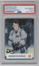2016 Cryptozoic Ghostbusters Dan Aykroyd Signed Auto Card #51 PSA/DNA Slabbed