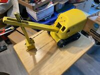 Structo Pressed Steel Yellow Steam Shovel