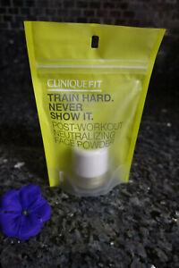 Clinique fit train hard never show it post workout neutralizing face powder
