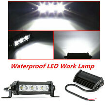 2PCS 12V 30W Aluminium Adjustable Car Waterproof LED Work Driving Fog Light Bar