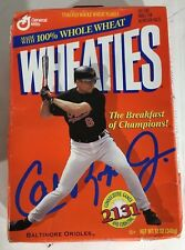 1995 Cal Ripken Jr 2,131 Consecutive Games And Counting Wheaties Cereal Box