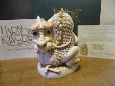Harmony Kingdom Saint Or Sinner Dragon UK Made Figurine
