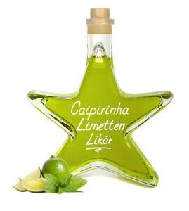Caipirinha Limettenlikör 0,2 L Stern Flasche fruchtiger Cocktail Likör 16% Vol