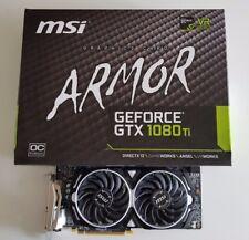 MSI NVIDIA GeForce GTX 1080 Ti Armor (11GB) Graphic Card
