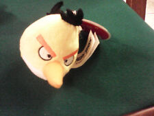 PELUCHE Plush CLIP portachiavi  keyring ANGRY BIRDS CHUCK 7cm