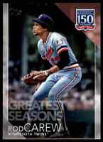 2019 TOPPS 150 YEARS CARD TWINS ROD CAREW #150-144