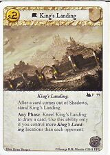 3 x King's Landing AGoT LCG 1.0 Game of Thrones Secrets and Spies 99