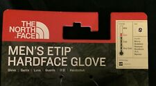 The Northface Men's eTip Hardface Gloves size small color gray