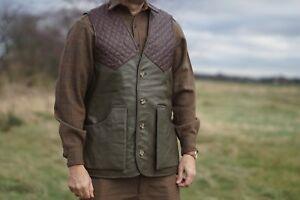 Milano Countryman Shooting, Hunting, REAL Leather Sheep Napa Gilet