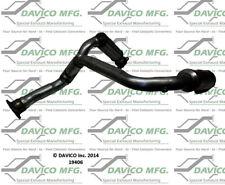 Catalytic Converter-Exact-Fit Front Davico Exc CA 19406