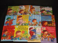 Harry & The Dinosaurs  CHILDRENS BOOK LOT  Ian Whybrow TEACHER SCHOOL