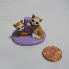 FISHER PRICE Sweet Streets Dollhouse KITTENS CATS CAT Playing for Pet Shop Kitty