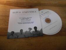 CD Pop Disco Ensemble - Second Soul (1 Song) Promo FULLSTREAM cb