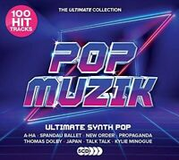 Various Artists - Pop Muzik: Ultimate Synth-Pop Anthems / Various [New CD] Boxed