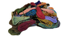 50pcs Multi Colors Cross Stitch Cotton Embroidery Thread Floss Sewing Lot