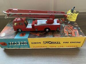 Corgi 1127 1:43 Simon Snorkel Fire Engine Model