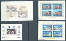 Romania Poland Spain Europa Related Sheets & S/S Mint Nh