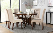 Oak Up to 6 Seats Oval Kitchen & Dining Tables