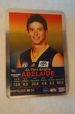 ADELAIDE CROWS - Silver Card - Footy Fact Card - Chris Knights