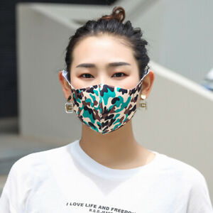*5 Pack* Cotton Cloth Camo Face Masks Car Facemask Re-Useable Reuseable