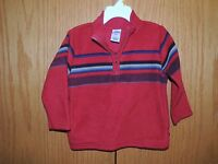 Boys Old Navy Red 1/2 Zip Fleece Sweatshirt Size 2T