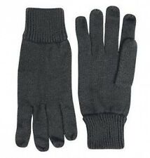 New BLACK Cold Weather THERMAL Contact GLOVES - Shooting Fishing